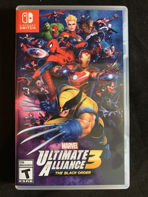Ultimate alliance 3 Nintendo switch for Sale in Lakewood, CA