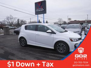 2018 Chevrolet Sonic for Sale in Detroit, MI