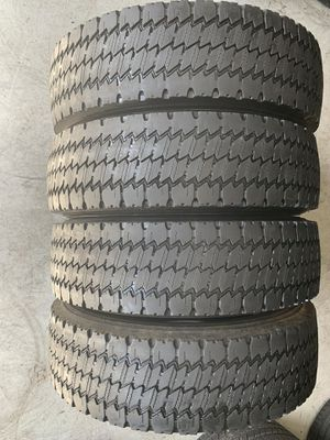 Set of used tires Michelin 225/70/19.5 for Sale in Holly Springs, NC