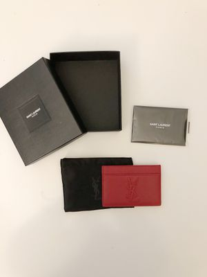 Saint Laurent | YSL card wallet for Sale in Portland, OR