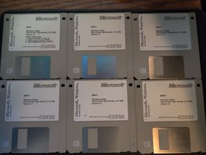Microsoft Windows 3.1 floppy disk set for Sale in Manchester, CT