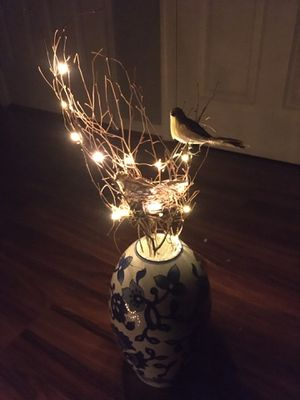 5 x Lighted bird branches for Sale in Charlottesville, VA