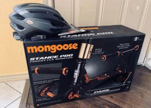 MONGOOSE SCOOTER 🛴 AND HELMET for Sale in Arlington, TX