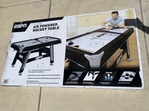 "ESPN 48"" Air Hockey Table Black for Sale in Las Vegas, NV"