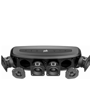 """Polk Audio - 2.1-Channel Soundbar System with 6-1/2"""" Subwoofer and Digital Amplifier - Black for Sale in Northborough, MA"""