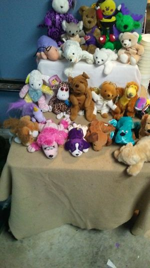Bean bag miniature stuffed animals for Sale in Indianapolis, IN