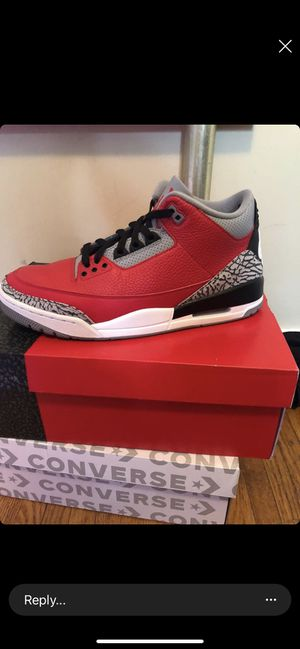 Jordan 3 red cements size 11 og all could pass as ds barely worn for Sale in Anchorage, AK