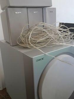 Sony Speaker Set for Sale in Layton,  UT