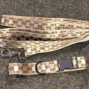 """GG"" Designer Dog Leash & Collar Set for Sale in Fullerton, CA"