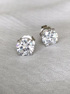 Stud CZ and Gold Earrings for Sale in Glendora, CA