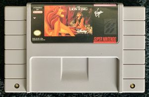 The Lion King for SNES for Sale in Mission Viejo, CA