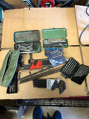 Lot of Allen Wrenches drill bits for Sale in Hanover Park, IL