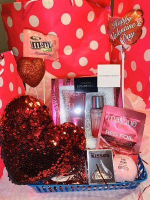 Victoria's Secret Valentine's Day gift basket for Sale in Chandler, AZ