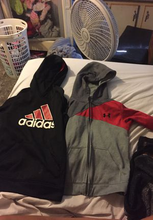 Adidas and under armor hoodies for Sale in Marydel, MD