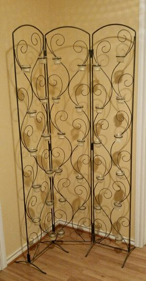Decorative 3-Panel Room Divider for Sale in Converse, TX