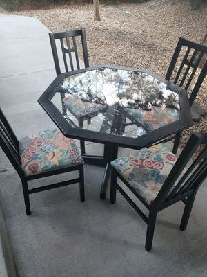 Small dining set 4chairs for Sale in Englewood, CO