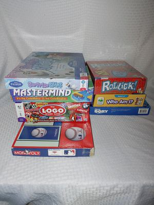 GAMES GAMES GAMES! for Sale in Davidson, NC