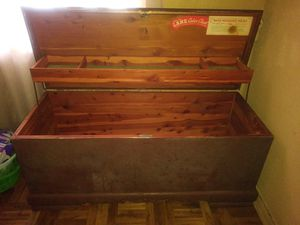 1940's cedar wood chest 150 obo for Sale in Victoria, TX