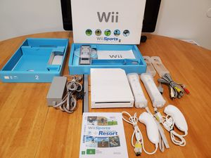 Nintendo Wii Wii Sports +Wii Sports Resort Complete In Box for Sale in Rock Hill, SC