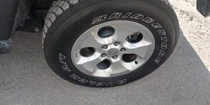 Jeep Wrangler rims and tires for Sale in Miami Gardens, FL