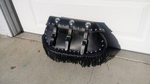 Indian motorcycle leather saddlebag for Sale in Davis, CA