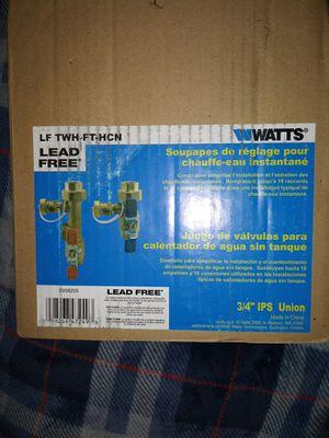 Lead free , Tankless water heater valve set for Sale in Seattle, WA