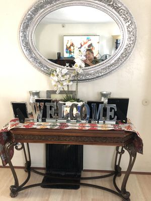 Mirror and table for Sale in San Diego, CA
