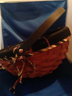 Longaberger Handmade Basket for Sale in Fort Worth, TX