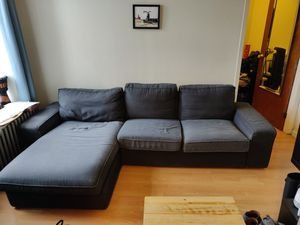 3-seat sectional couch with chaise lounge (IKEA KIVIK model) for Sale in New York, NY