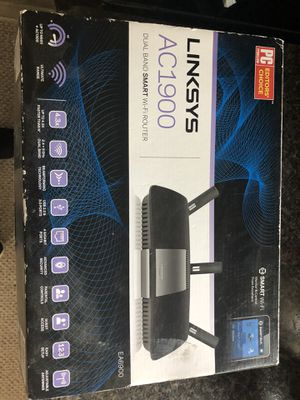 Linksys- AC1900 smart WiFi router for Sale in DeLand, FL