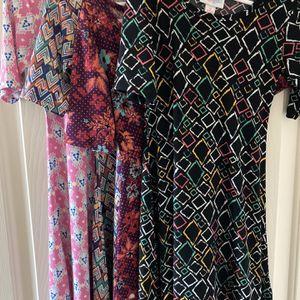 LuLaRoe Adeline Dresses Lot Of 4 / Size 6 for Sale in Las Vegas, NV
