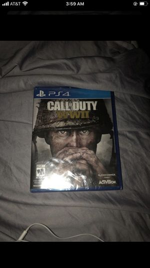 Call of duty WW2 Ps4 for Sale in Washington, DC