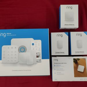 Ring Alarm 14-piece kit (2nd Gen) – home security system with optional 24/7 professional monitoring BRAND NEW AND FACTORY SEALED! for Sale in Covina, CA