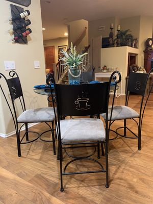 Glass dining table set for Sale in Corona, CA