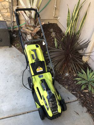 "Lawn mower electric corded Ryobi 13"" NEW for Sale in San Diego, CA"