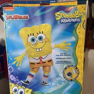 Inflatable spongebob Costume for Sale in Waddell, AZ