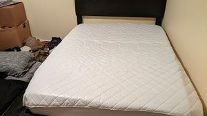 Full size mattress for sale with frame for Sale in Oak Grove, KY