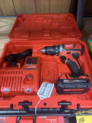 New Milwaukee 18v M18 Drill Kit. 2606-21 for Sale in Waltham, MA