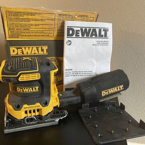DeWalt Cordless Palm Sander 20v 20 Volt Brushless for Sale in Phoenix, AZ