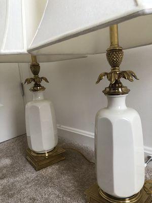 Two Luxury Lenox Pineapple Lamps for Sale in Laurel, MD