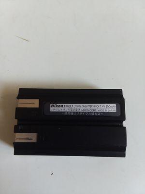 Nikon EN-EL1 Lithium Ion Battery Pack 7.4V 650mAh for Coolpix for Sale in Adelphi, MD