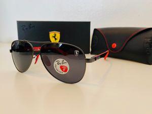 New Polarized Ray-Ban Scuderia Ferrari for Sale in La Puente, CA
