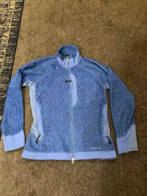 Women's size Medium Patagonia Blue zip up jacket for Sale in Los Angeles, CA