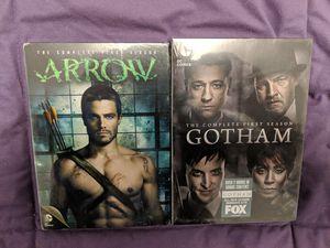 Arrow & Gotham Season 1 DVD Set for Sale in Silver Spring, MD