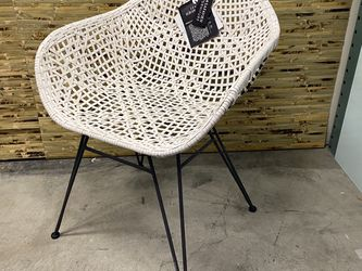 Safavieh Leather weave chair for Sale in Seattle,  WA