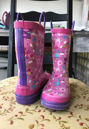 Girls rain boots for Sale in Wake Forest, NC