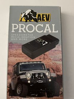AEV Procal Speedmeter for 2007-2017 JK for Sale in Mission Viejo,  CA