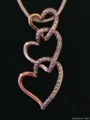 Three Heart necklace for Sale in Denver, CO