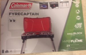 Coleman, Stove Propane Fyre Captain 2-Burner for Sale in Durham, NC