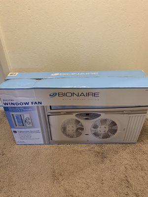 Bionaire window fan for Sale in Redwood City, CA